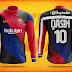 Nike's FC Barcelona Zip Sweat Shirt Design Tutorial by M Qasim Ali