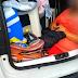 Família é flagrada carregando a sogra no porta-malas do carro em Santa Catarina