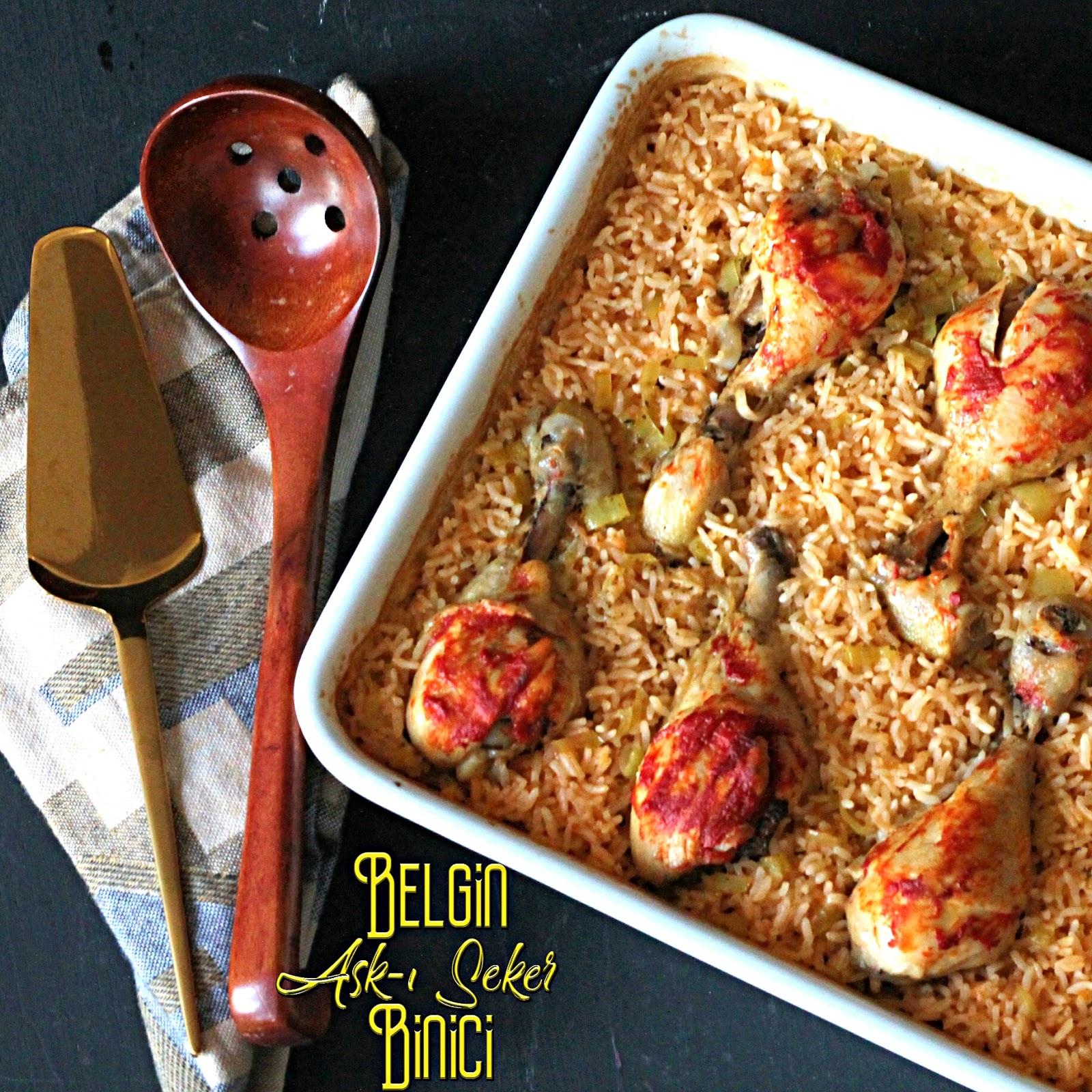 Fırında Tereyağlı Tavuk ve İç Pilavı Nasıl Yapılır