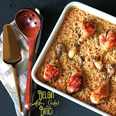 Fırında Tavuk Kapama Pilavı Tarifi nasıl yapılır yöresel nefis kolay yemek tarifleri Lezzetli bir iftar yemeği,