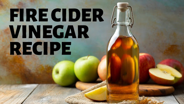 Fire cider vinegar recipe: A natural cold and flu home remedy for symptom relief. Learn how to make a homemade fire cider vinegar as a natural cold and flu remedy. This traditional, warming apple cider vinegar tonic acts as a holistic decongestant while also supporting immune health. Boost your immunity for health and wellness with this holistic homeopathic fire cider recipe.