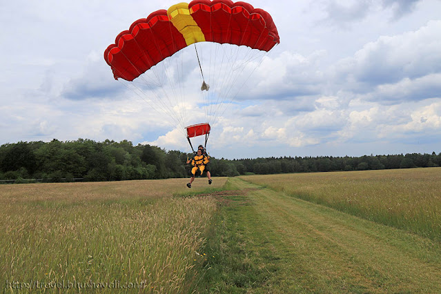 Parachute Paragliding in Spa Belgian Ardennes