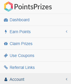 Kiếm tiền trên PointsPrizes bằng khảo sát và offers