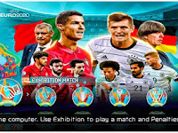 PES 2021 PPSSPP Season Update Euro 2020 Edition Graphics HD New Kits 2022 & Latest Transfer