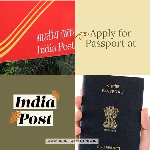 passport apply at india post office