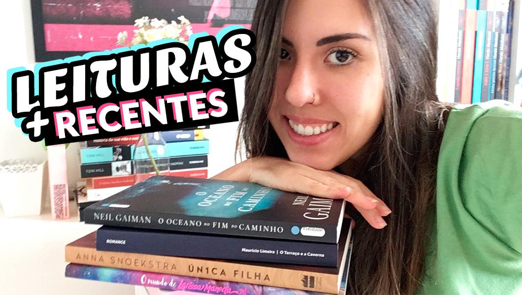 Livros - Minhas leituras mais recentes: YA, Neil Gaiman, thriller, Larissa Manoela