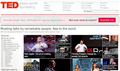 TED - Plataforma virtual para emprendedores