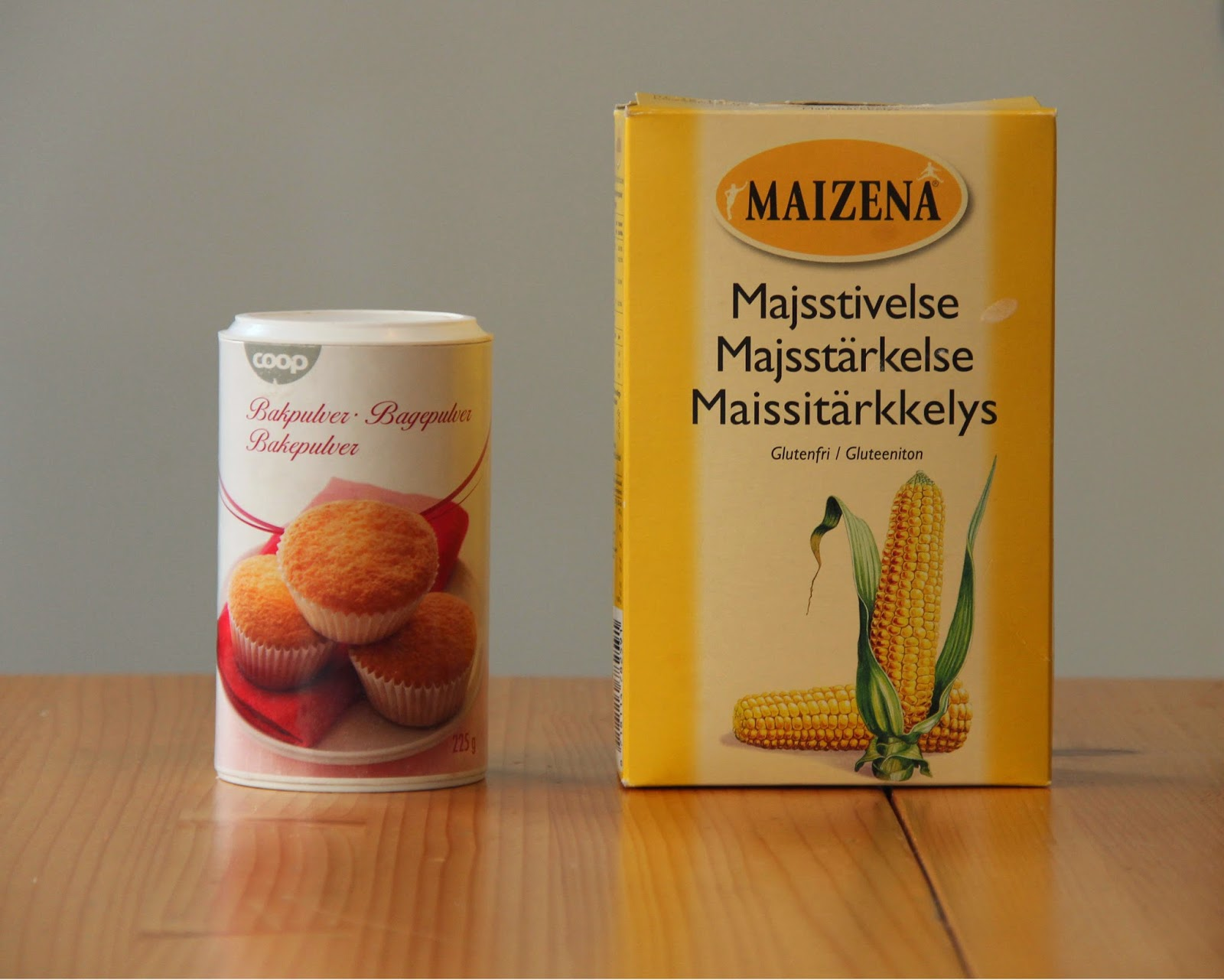 majsstärkelse istället för potatismjöl
