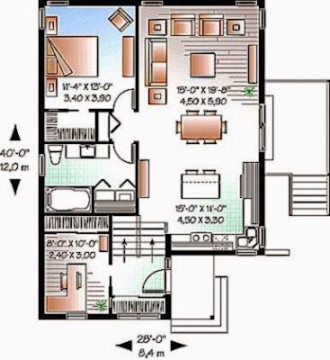 skema rumah minimalis modern | design rumah minimalis