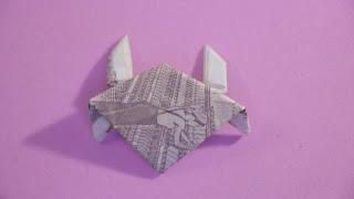 hướng dẫn cách gấp con cua bằng tiền giấy đơn giản và đẹp