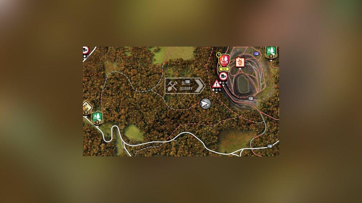 Lotus Elise GT1 Map