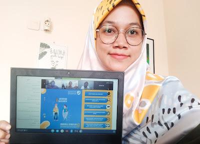 mengikuti webinar parents update Jadi Parents Melek Digital Ala Gen Z