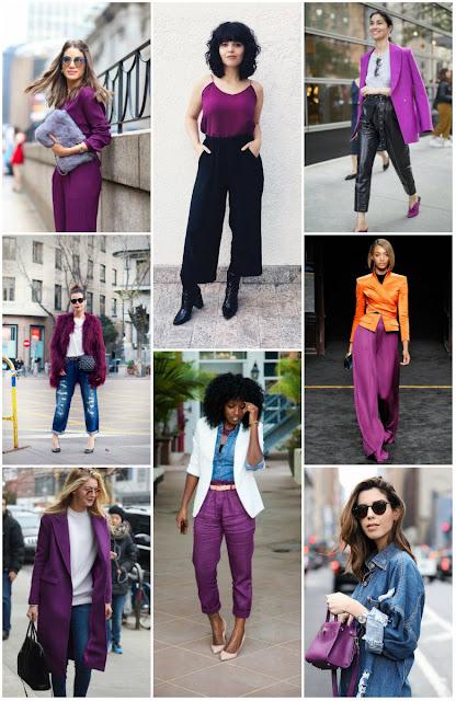inspirações de como usar o ultra violet