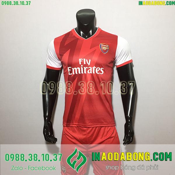 Áo bóng đá câu lạc bộ Arsenal 2020 màu đỏ