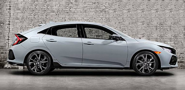 New 2017 Honda Civic Hatch Revealed