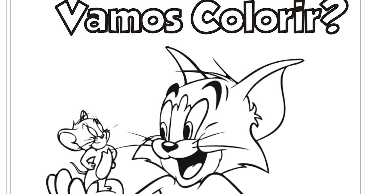 Ideia Criativa Lindas Imagens: Tom E Jerry Desenho Para