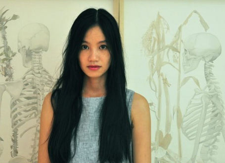 Vietnamese artist's silk paintings exhibition in Singapore