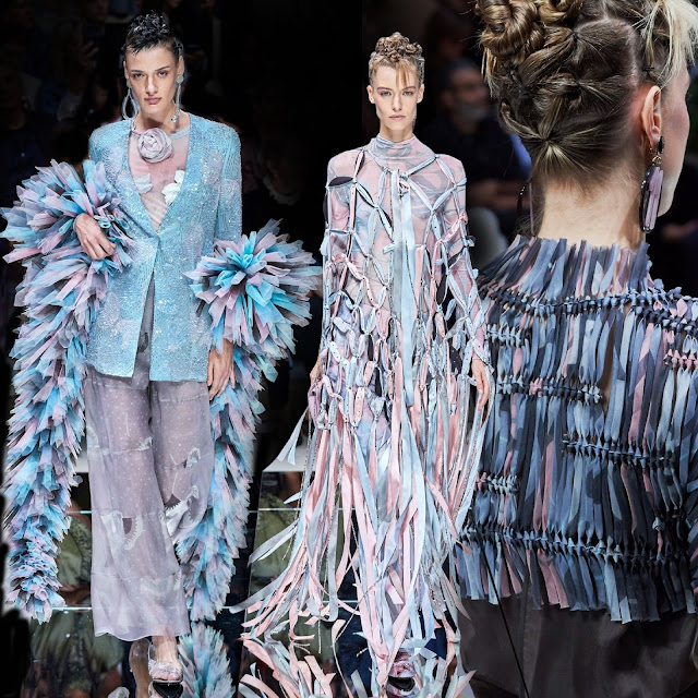 Giorgio Armani Spring Summer 2020 Milan Fashion Week by RUNWAY MAGAZINE