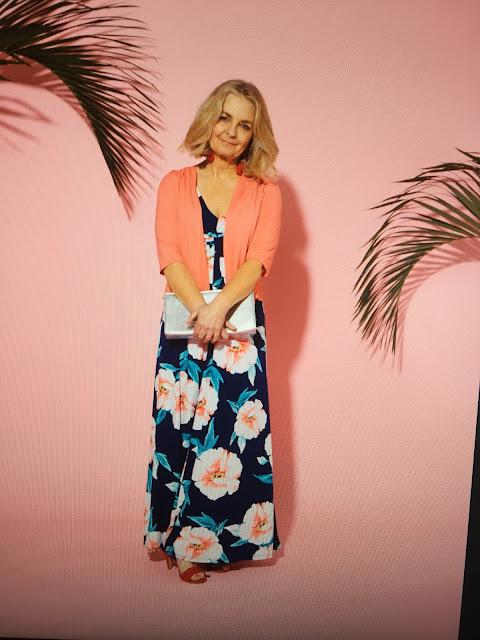 image showing Bonmarche maxi dress set summer 2018