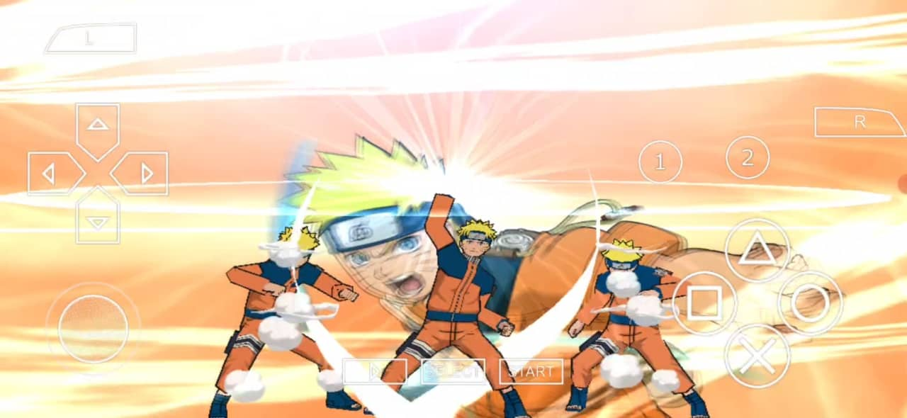 Naruto Games for PPSSPP