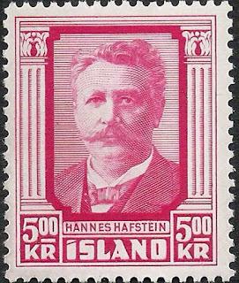 Iceland 1953 5k Hannes Hafstein