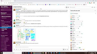 Compartiendo información con Slack