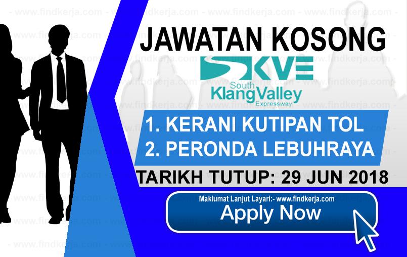 Jawatan Kerja Kosong SKVE Holdings Sdn Bhd logo www.findkerja.com www.ohjob.info jun 2018