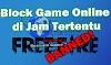 Cara Blokir Game Online