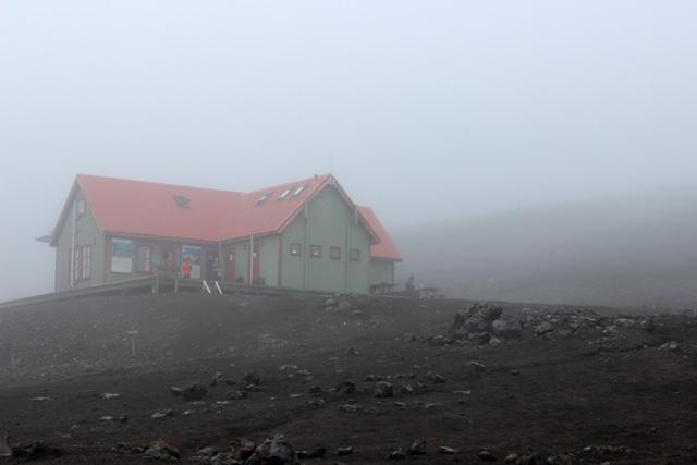 El refugio de Hrafntinnusker