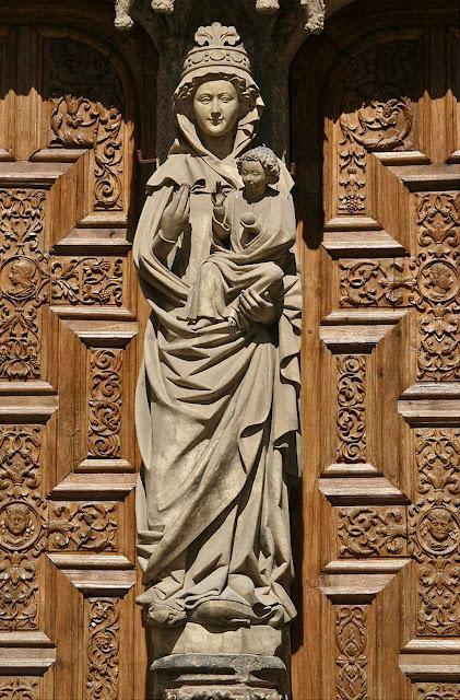 Nossa Senhora a Branca León, Espanha.