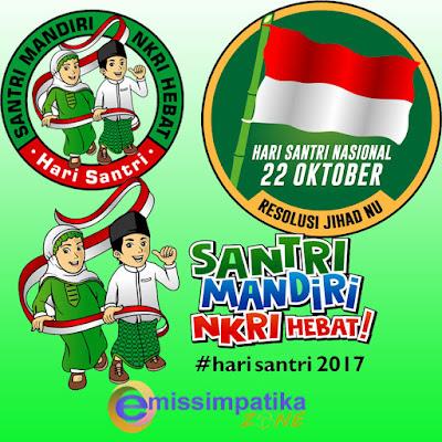 Kumpulan Logo Terbaru Hari Santri Nasional Tahun 2017