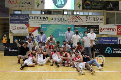 El Jaén CB finaliza tercero en la fase final de LN1 masculina y espera una vacante en EBA