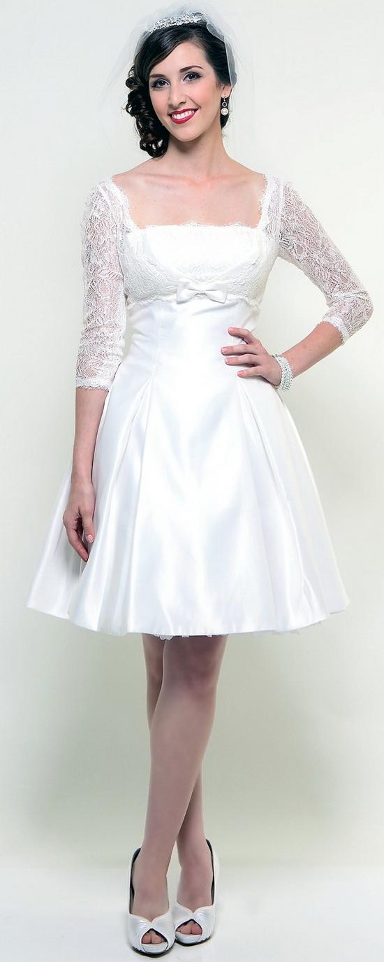 ba684d9006 Suknia ślubna z rękawami wygląda niezwykle elegancko