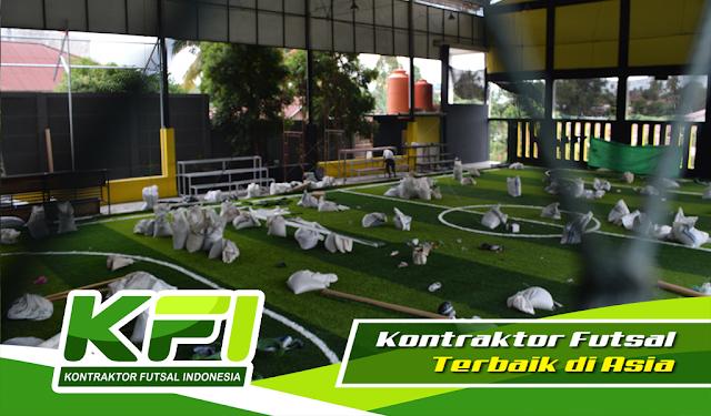 jasa pembuatan lapangan futsal murah, jual rumput futsal yang murah, jual rumput sintetis yang bagus