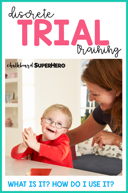 discrete trial training students with special needs
