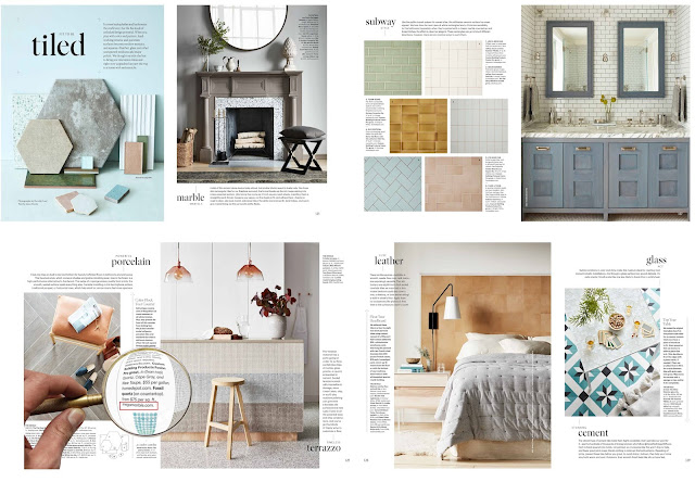 Mega Marble Has Been Featured On Living Magazine -