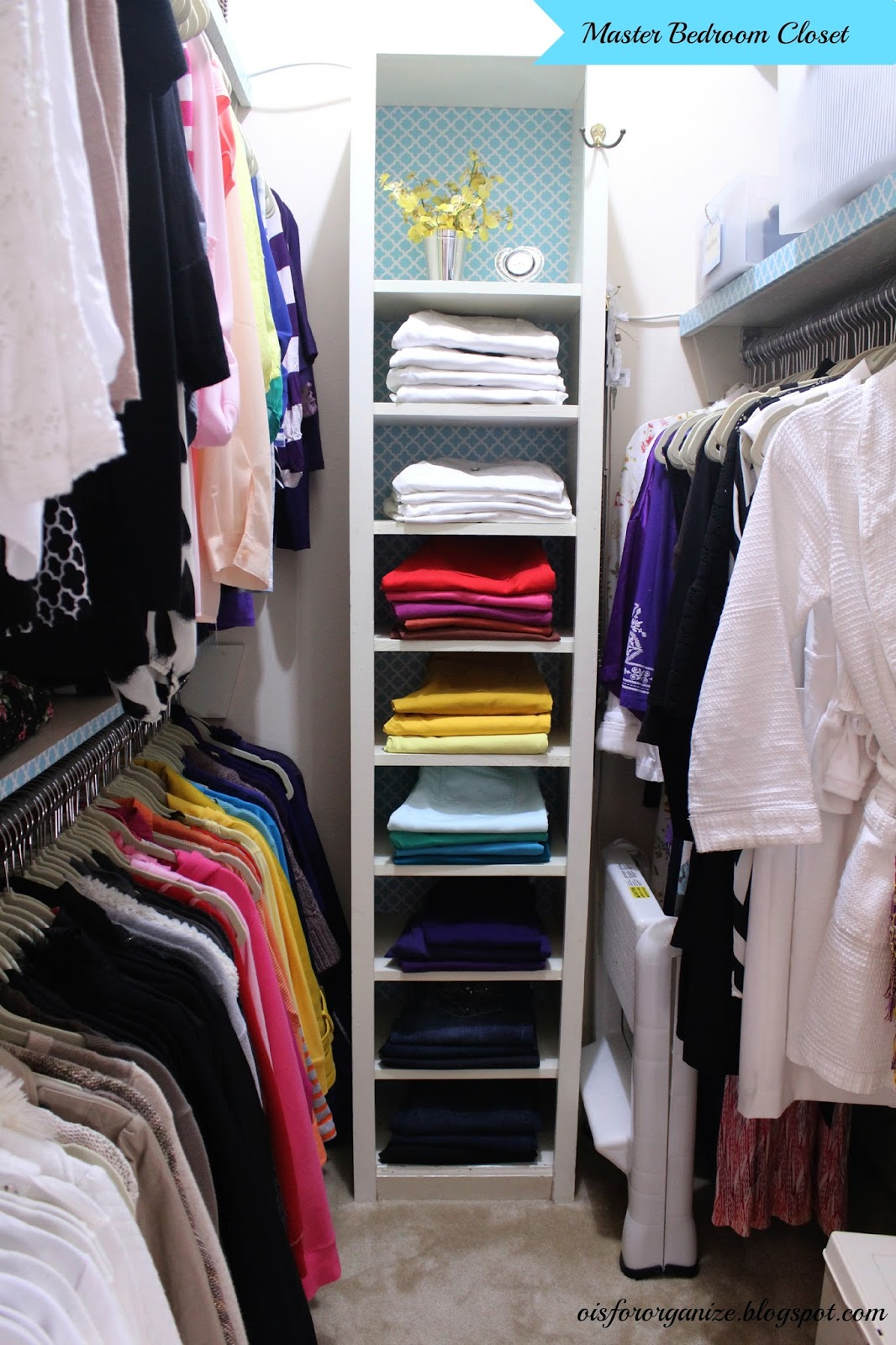 O Is For Organize Master Closet Reveal