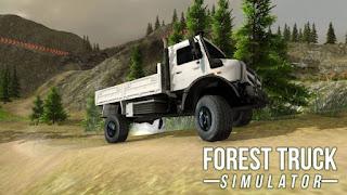 FOREST TRUCK SIMULATOR MOD APK
