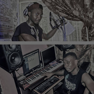 Mr Kendy Recording No Where In the studio with ZYZ Adager