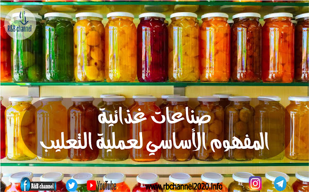 حفظ الأغذية - التعليب | المفهوم الأساسي لعملية التعليب