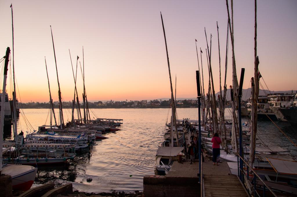 Яхты на берегу Нила