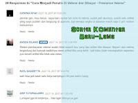 Cara Mengubah Sistem Urutan Komentar Di Blogger (Terbaru-Terlama)