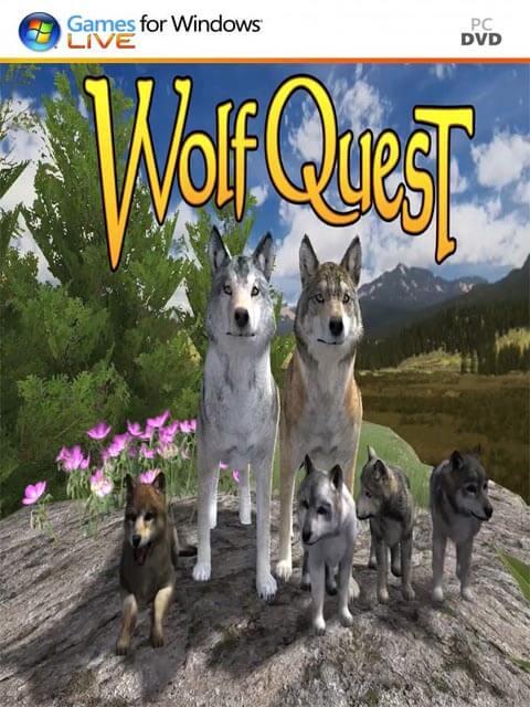 تحميل لعبة WolfQuest مضغوطة برابط واحد مباشر + تورنت كاملة مجانا