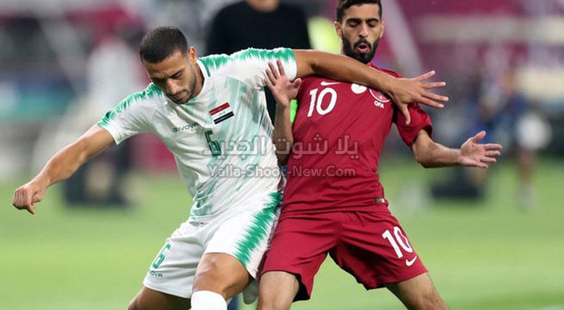 قطر vs العراق