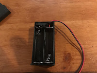 battery terminal with positive wire