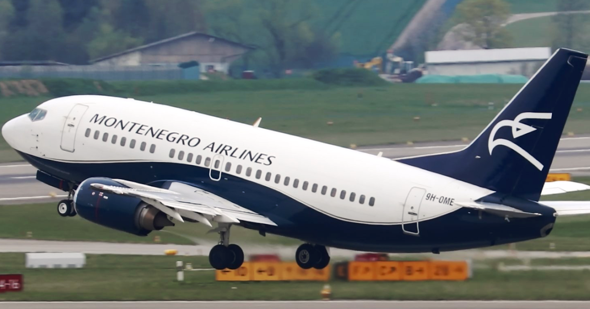Montenegro Airlines Wet Leases B737 500
