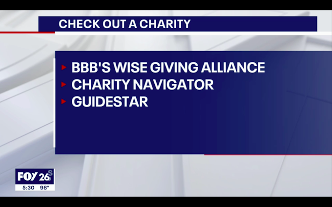 BBB: Watch out for Ida donation scams