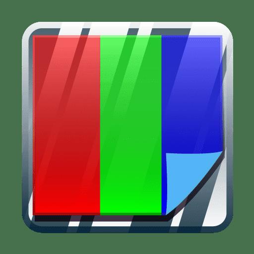 تطبيق ضبط لون شاشة