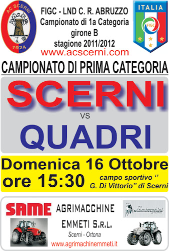 Calendario Promozione Abruzzo.Calendario Completo Promozione Gir B Stagione 2010 2011