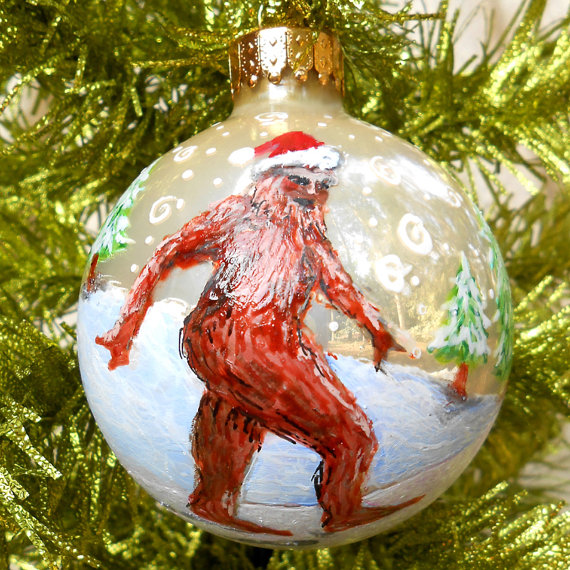 Terrible Christmas Decorations: Pinkpackrat@Play: Weird Hand Crafted Christmas Tree Ornaments